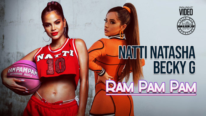 Natti Natasha, Becky G - Ram Pam Pam (2021 Reggaeton official video)