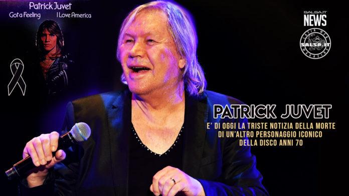 Trovato Morto nel sua appartamento di Barcellona il cantante della Disco anni 70 Patrick Juvet (2021 News Salsa.it)