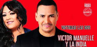 Víctor Manuelle, La India - Victimas Las Dos (2021 salsa official video)