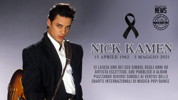 Nick Kamen - Addio al sex simbol degli anni 80 (2021 News salsa.it)