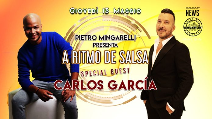 Carlos Garcia ospite ad A Ritmo de Salsa
