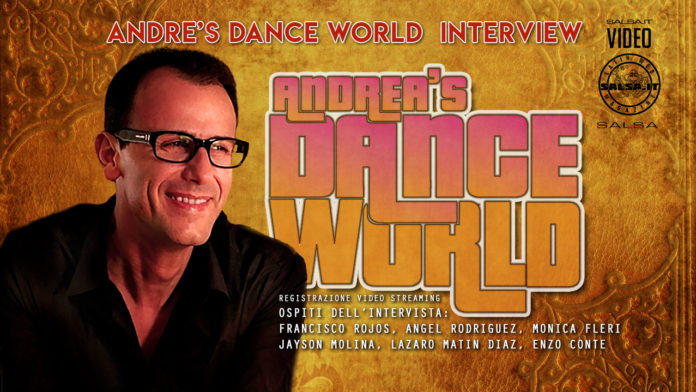 Andrea's Dance World Interview with the Italian Connection & Salsa History (London 15 Mayo 2021)
