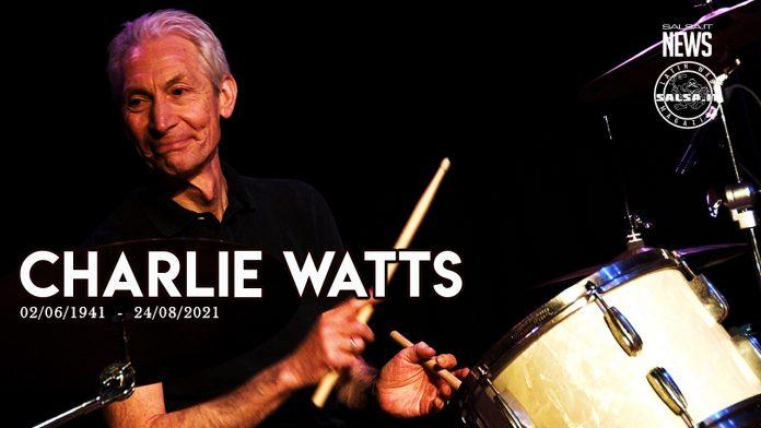 La più leggendaria rock band del mondo ha perso il suo batterista Charlie Watts (2021 Salsa.it News)