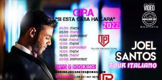 Joel Santos - Tour Italiano (2021 News Salsa.it)