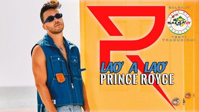 Prince Royce - Lao a Alo (2021 Testi e traduzioni)