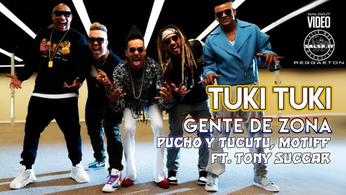 Pucho y Tucutu, Gente de Zona, Motiff ft Tony Succar (2021 Salsaton official video)